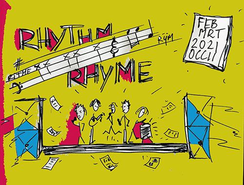 start Kidskunstlab RHYTHM & RHIME (ritme en rijm) gecancelled i.v.m. lock down