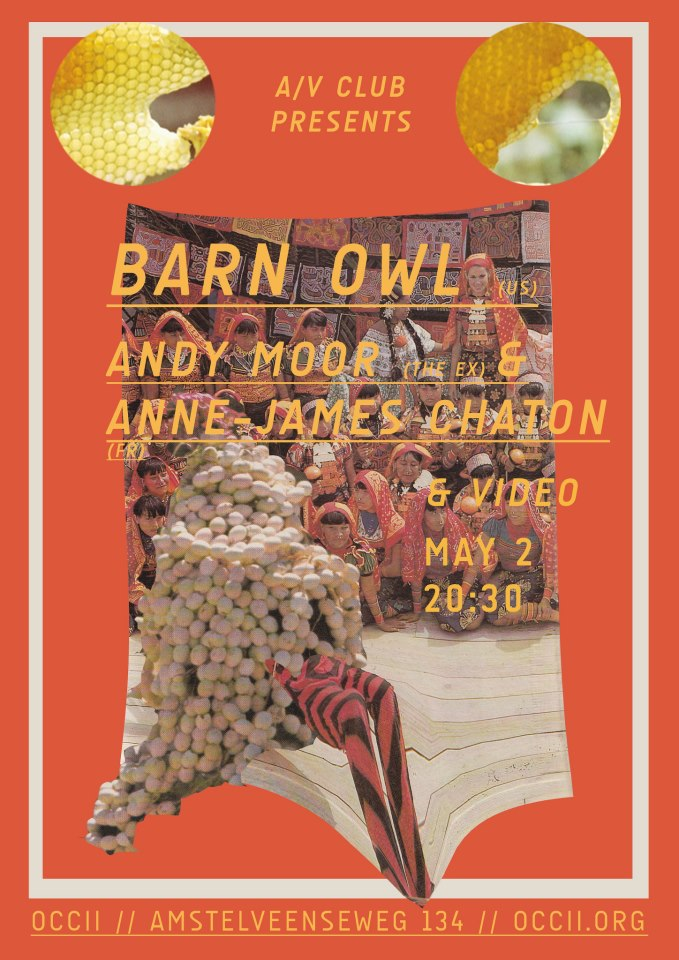 A/V CLUB #14 - BARN OWL - ANDY MOOR & ANNE JAMES CHATTON