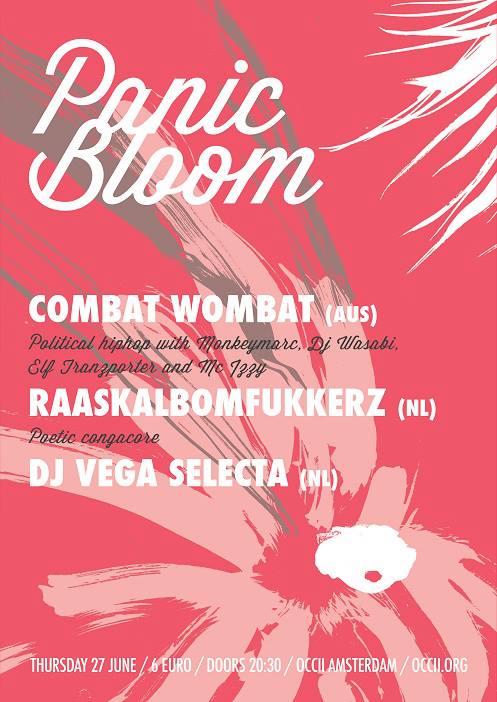 COMBAT WOMBAT (AUS) = Monkey Marc, DJ Wasabi, Elf Tranzporter & MC Izzy + RAASKALBOMFUKKERZ + VEGA SELECTA