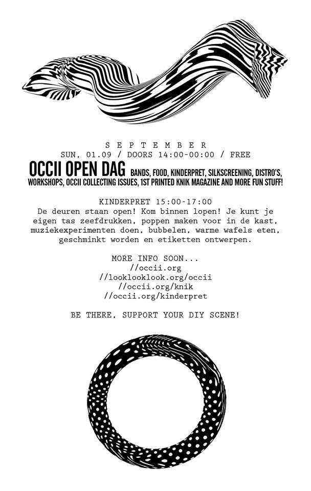 OCCII Open Day w/ THE EX + JAAP BLONK + YEDO GIBSON/ROGIER SMAL DUO + MORE FUN