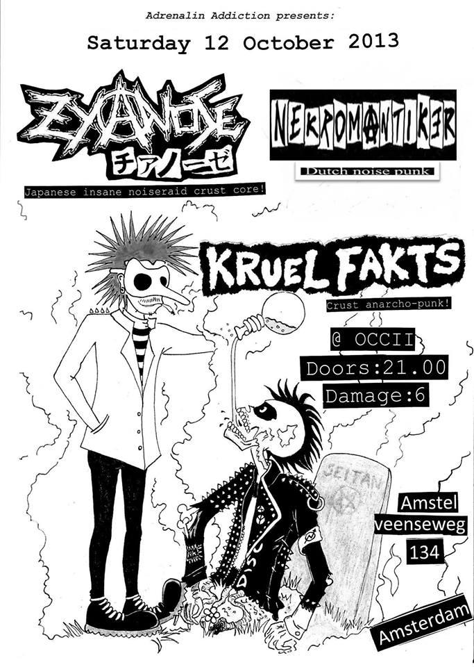 ZYANOSE (JP) +  KRUEL FAKTS + NEKROMANTIKER