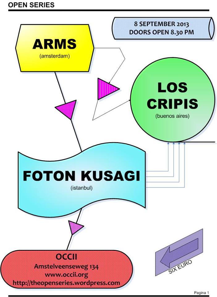 FOTON KUSAGI (TR) + LOS CRIPIS (AR) + ARMS