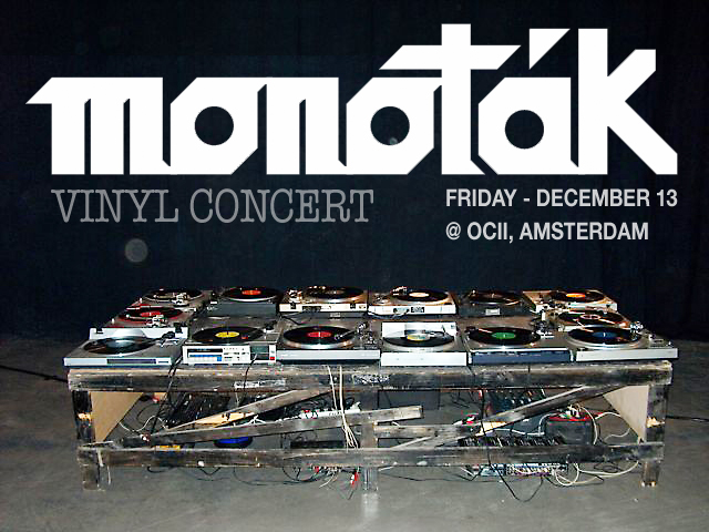 Monoták Collective - Vinyl Concert + 7090