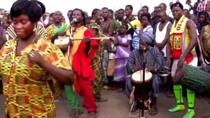 King Ayisoba and band