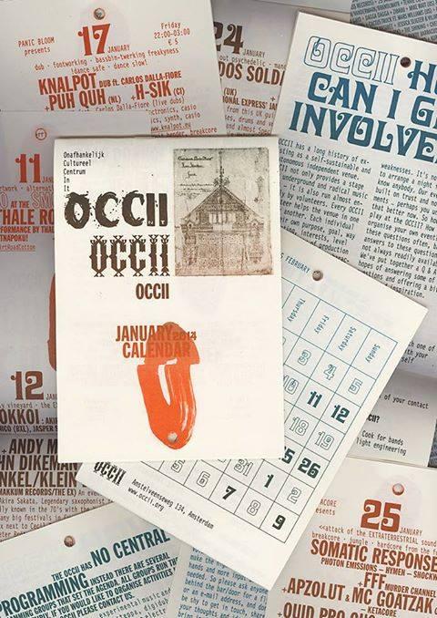 OCCII CALENDAR 2014