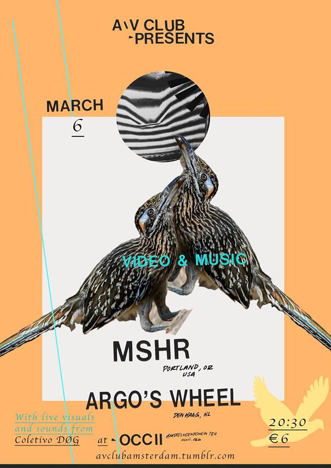 MSHR (us) + ARAGO'S WHEEL + COLETIVO DØG (VJ/DJs DØG & Caetano)