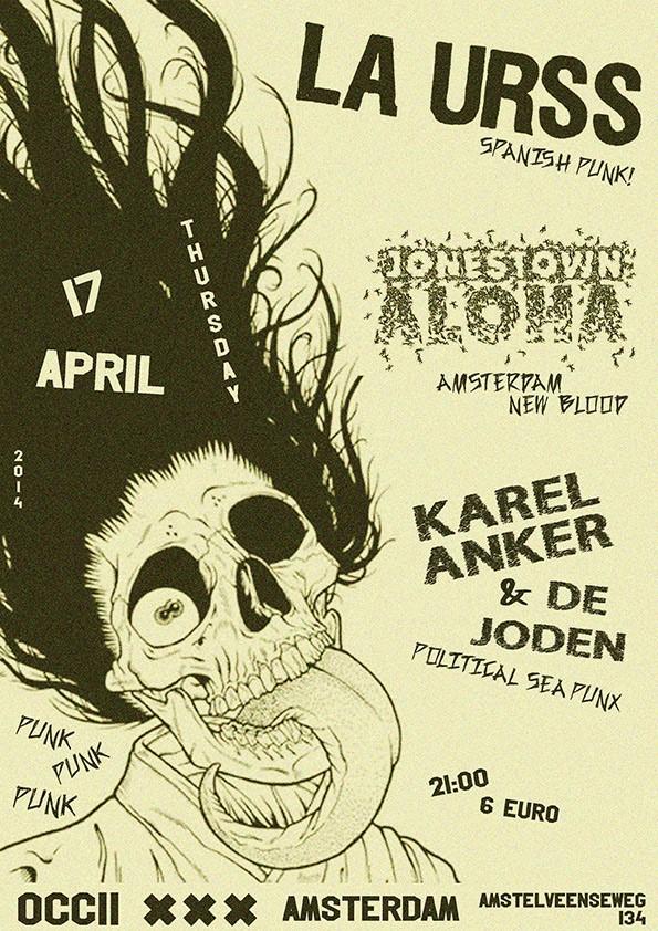 LA URSS (es) + KAREL ANKER & DE JODEN + JONESTOWN ALOHA