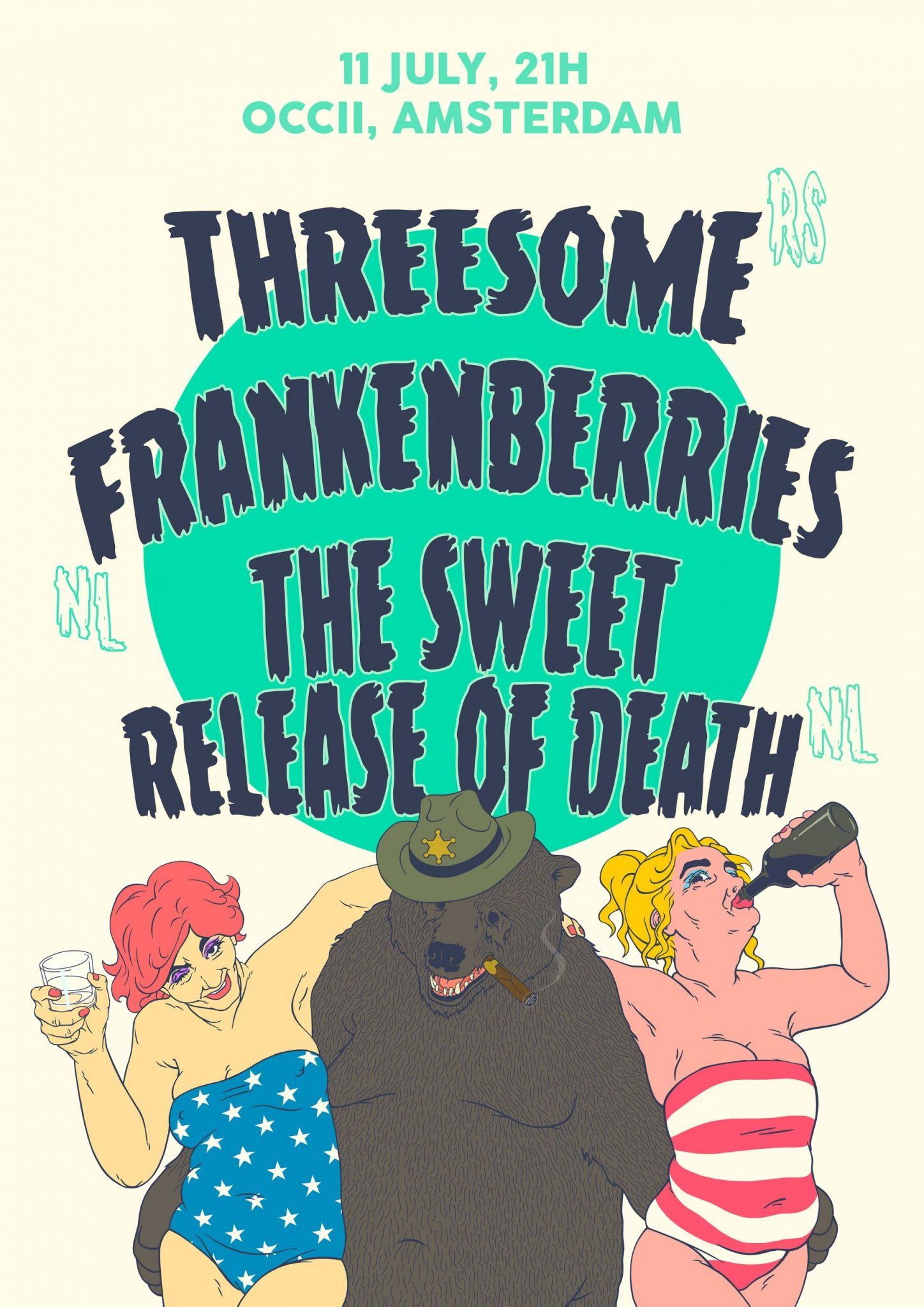 THREESOME (rs) + FRANKENBERRIES + THE SWEET RELEASE OF DEATH
