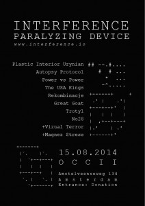 INTERFERENCE PARALYZING DEVICE