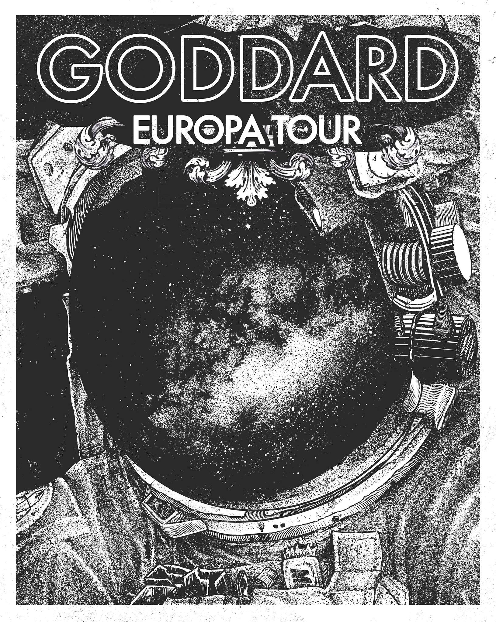 GODDARD (us) + SPACE SIREN + THE SASTERS + DJ JUJU + + Do It Together Docu