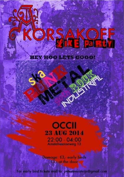 A Korsakoff like Party !!