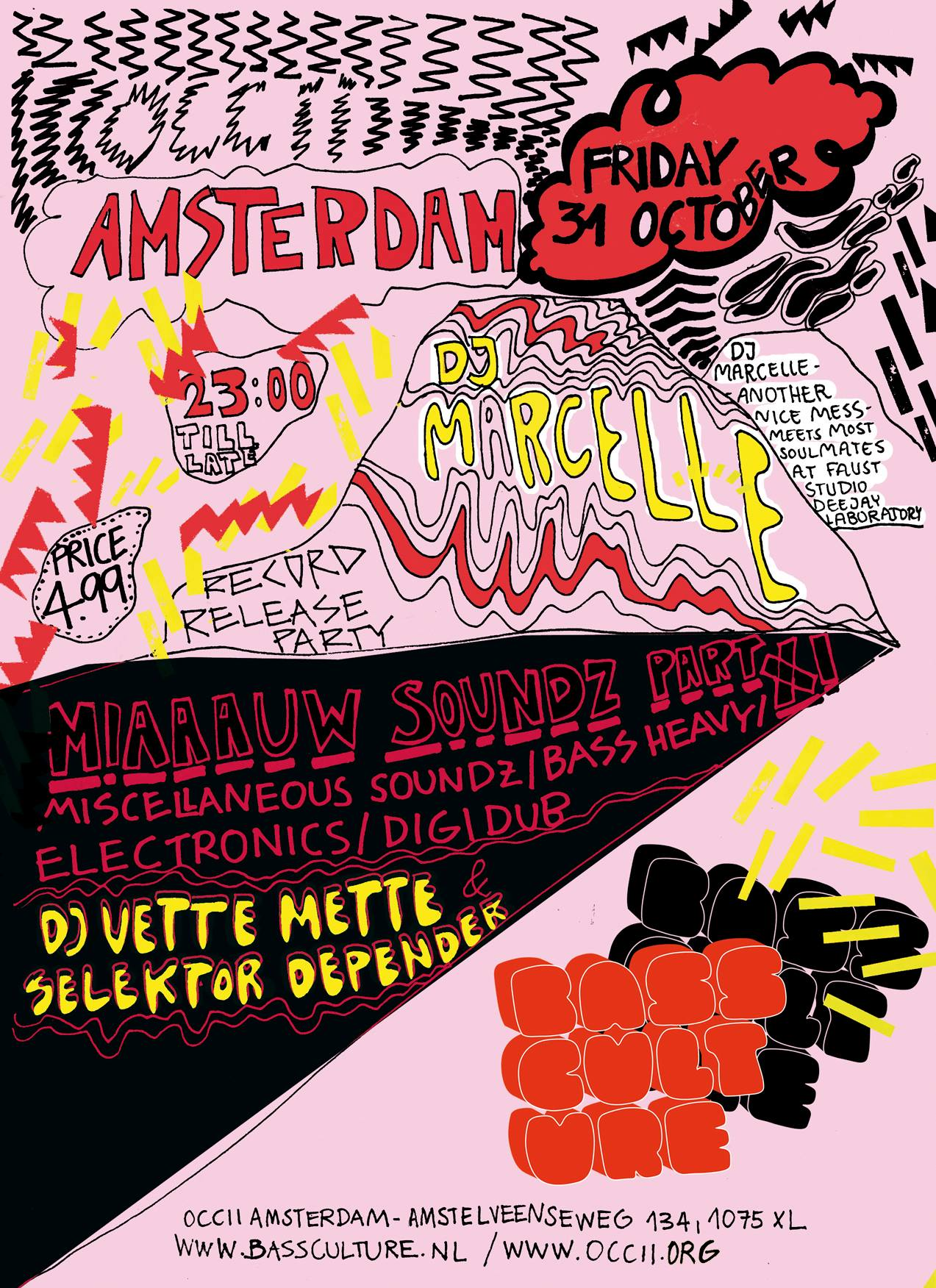 MIAAAUW SOUNDZ PART XI w/ DJ MARCELLE (Another Nice Mess) + DJ Vette Mette & Selektor Depender