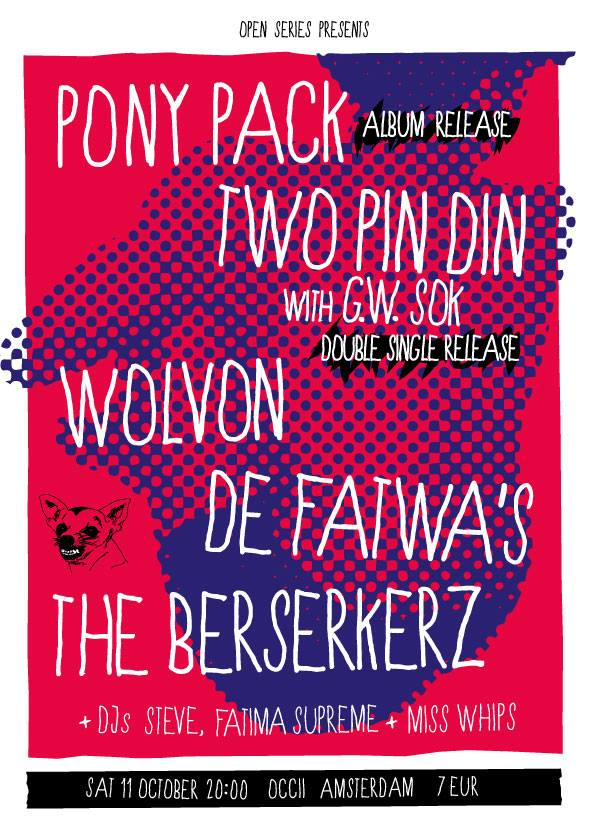 TWO PIN DIN & GW SOK + PONY PACK + WOLVON + THE BERSERKERZ