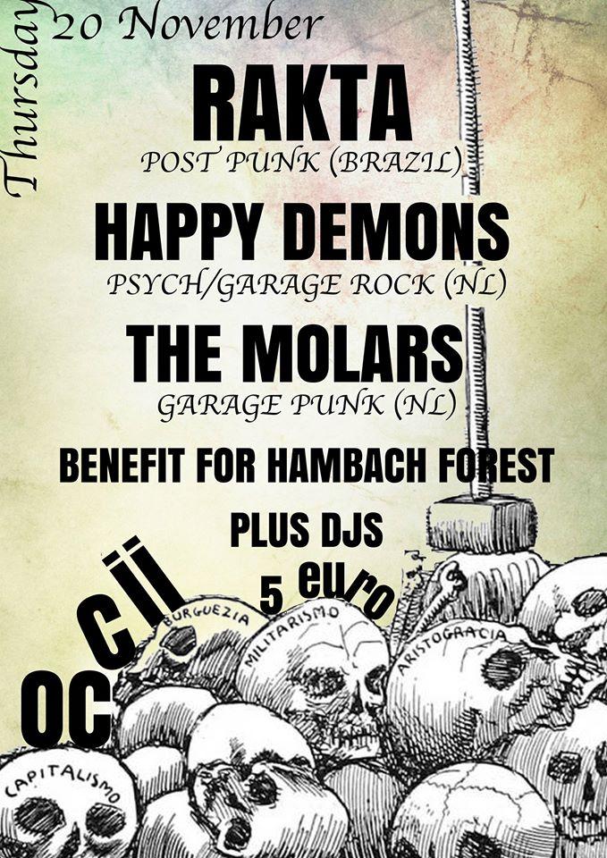 RATKA (BR) + HAPPY DEMONS + THE MOLARS