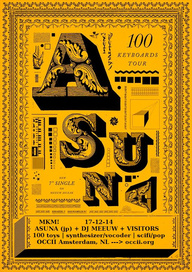 ASUNA (jp) + DJ MEEUW MUZAK + VISITORS