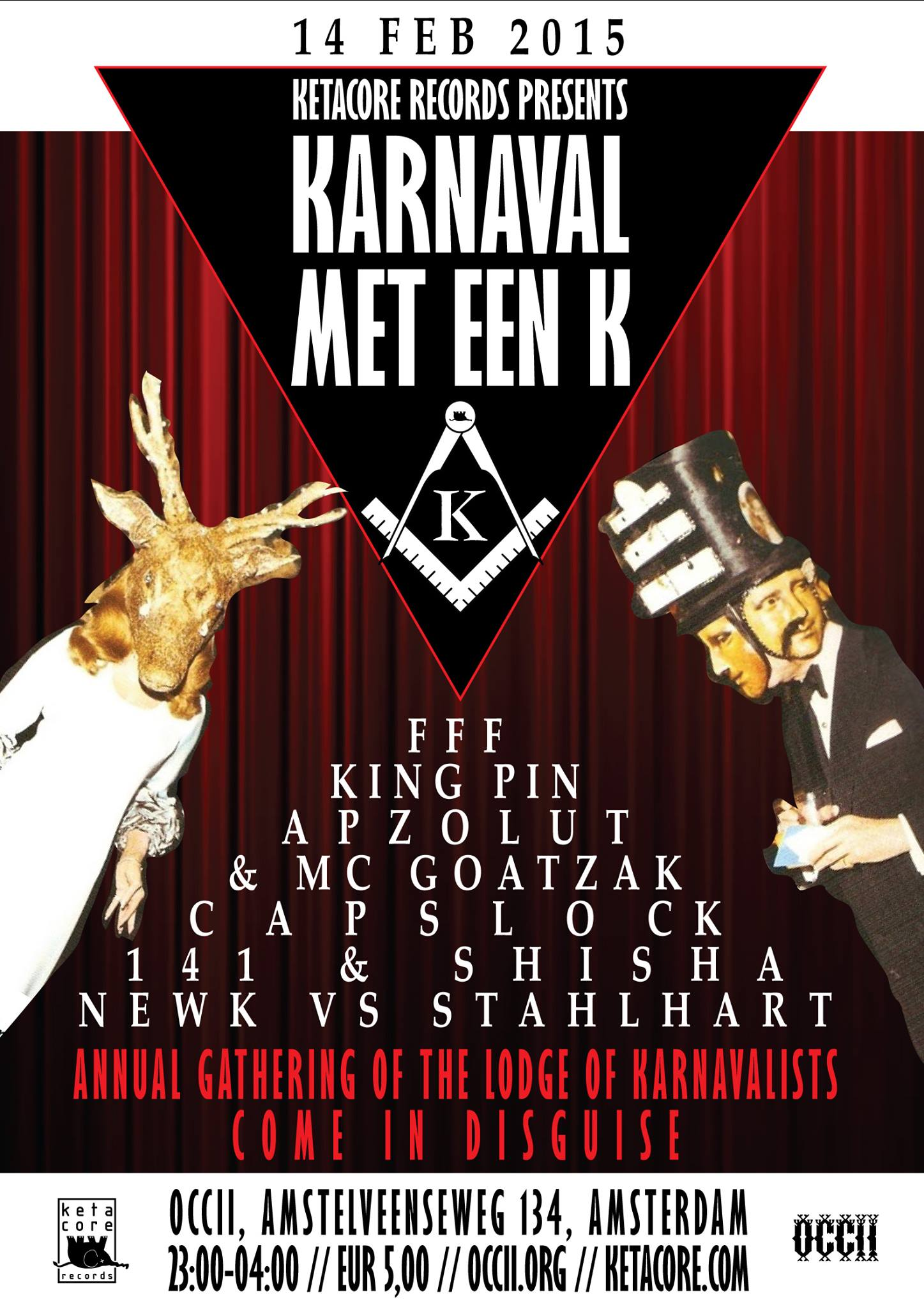 KARNAVAL met een K! -w/ FFF + MEOW MEOW & JEFFLOCKS + KINGPIN + CAPSLOCK + NEWK vs STAHLHARD + 141 vs SHISHA