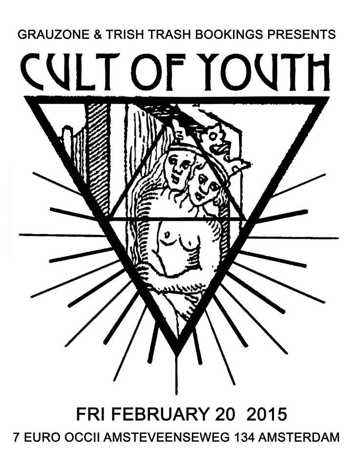 CULT OF YOUTH (us) + DJ TRISH TRASH