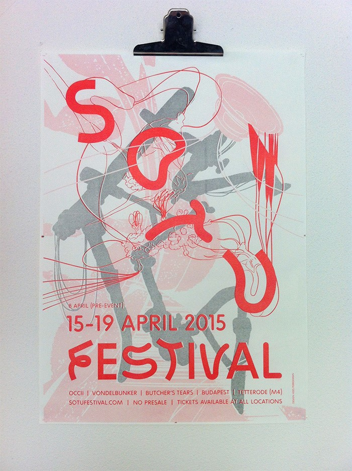 SOTU Festival 2015 -w/ SENYAWA (ID) + THE KURWS (pl) + RHYS CHATHAM (us) + SHIT & SHINE (us) + SHEIK ANORAK (fr) + VARKENSHOND (be) + STOKA ENSEMBLE + CYRIL M. (fr) + WAIVER + CREMATION LILY (uk) + URBAN GREY + URPF LANZE (be) + FETTER + INVUNCHE + KLANKMAN + BRUTAL ORGASM (be) + FAKE MAGAZINE + THE OUTSKIRTS + HOWIE REEVE (sc)  + EUGENE CHADBOURNE & ROGIER SMAL (US/NL) + So Much More !!!