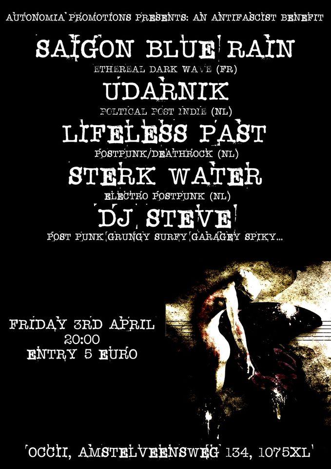 SAIGON BLUE RAIN (fr) + UDARNIK  + † Lifeless Past † + STERK WATER + DJ STEVE