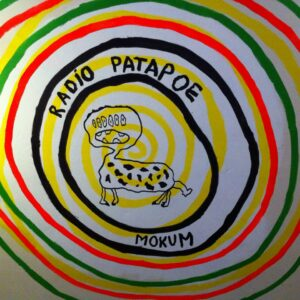 OCCII wallpainting RADIO PATAPOOE