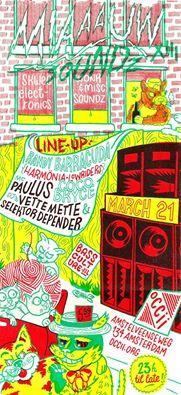 MIAAAUW SOUNDZ XIII -w/ RANDY BARRACUDA (Harmönia) + COCO BRYCE (Lowriders) + MC PAULUS + Vette Mette & Selektor Depender