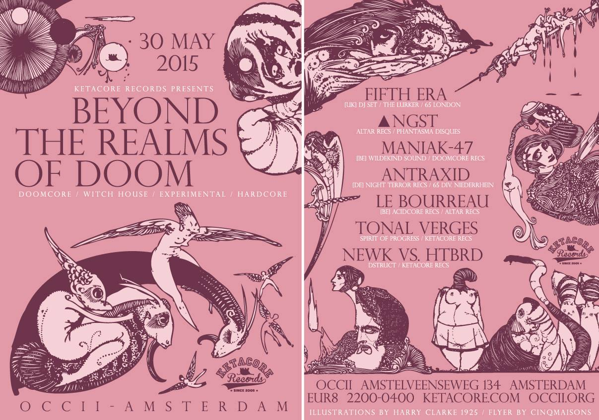 Beyond The Realms Of Doom -w/ FIFTH ERA (uk) + ANGST + MANIAK-47 (be) + ANTRAXID (de) + LE BOURREAU (be) + TONAL VERGES + NEWK vs HTBRD