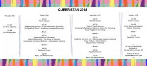 queeristan 2015 schedule