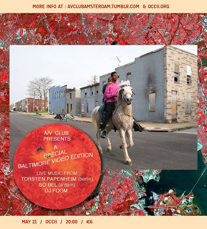 Baltimore Special Edition -w/ SO BEL + TORSTEN PAPENHEIM (de) + DJ FOOM + DJ 128kb/s + Video screening