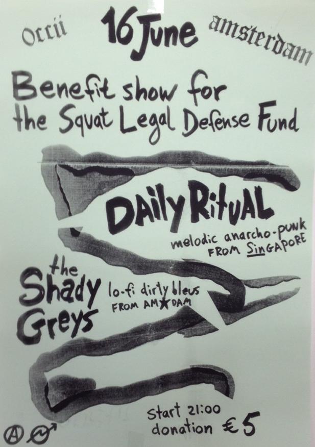 DAILY RITUAL (SGP) + THE SHADY GREYS