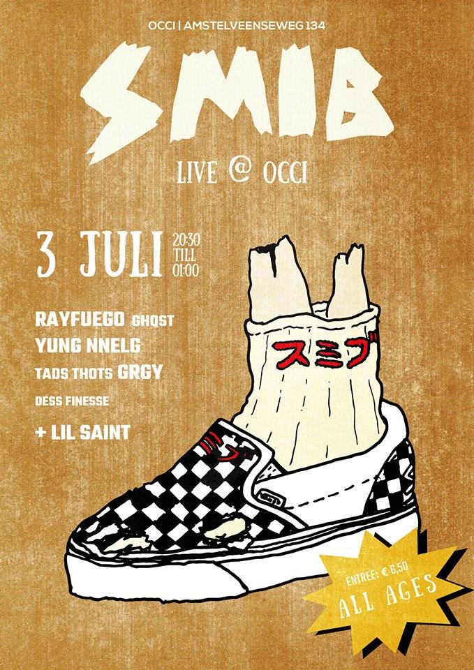 SMIB Live -w/ RAY FUEGO + GRGY + DESS FINESSE + GHQST + TADS THOTS + YUNG NNELG + LIL SAINT