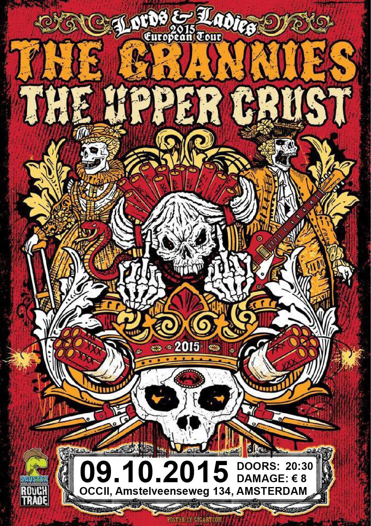 THE GRANNIES (us) + THE UPPER CRUST (us)