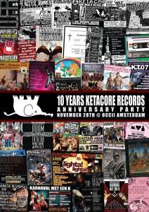 10 YEARS KETACORE RECORDS