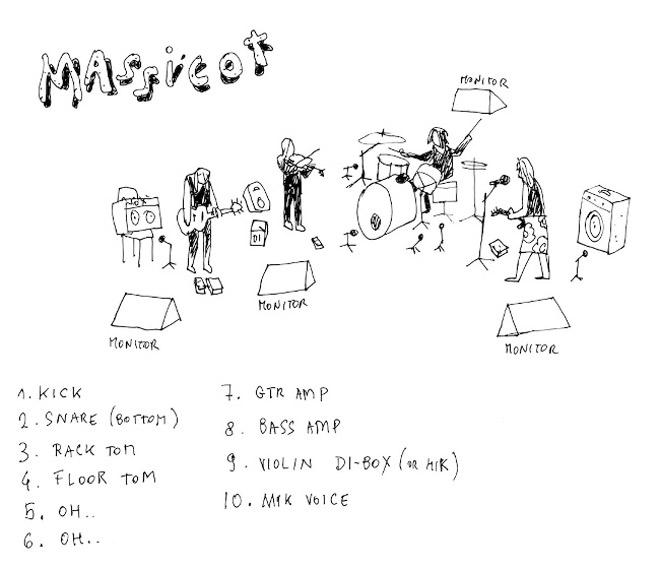 MASSICOT (CH) + SEB & THE RHÂÂÂ DICKS (fr) + DJ STEVE
