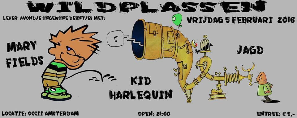 """WILDPLASSEN"" -w/ MARY FIELDS + KID HARLEQUIN + JAGD"
