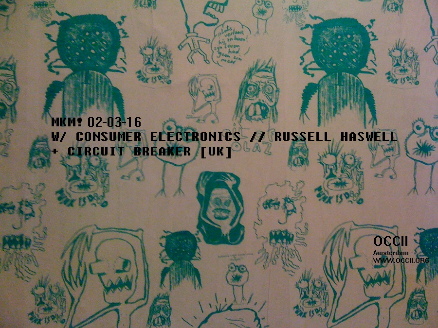 CONSUMER ELECTRONICS (PHILIP BEST + SARAH FROELICH + RUSSELL HASWELL) + CIRCUIT BREAKER (uk)