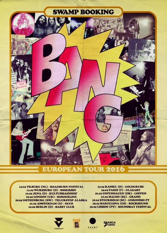 BANG (us) + SUPERSONIC BLUES