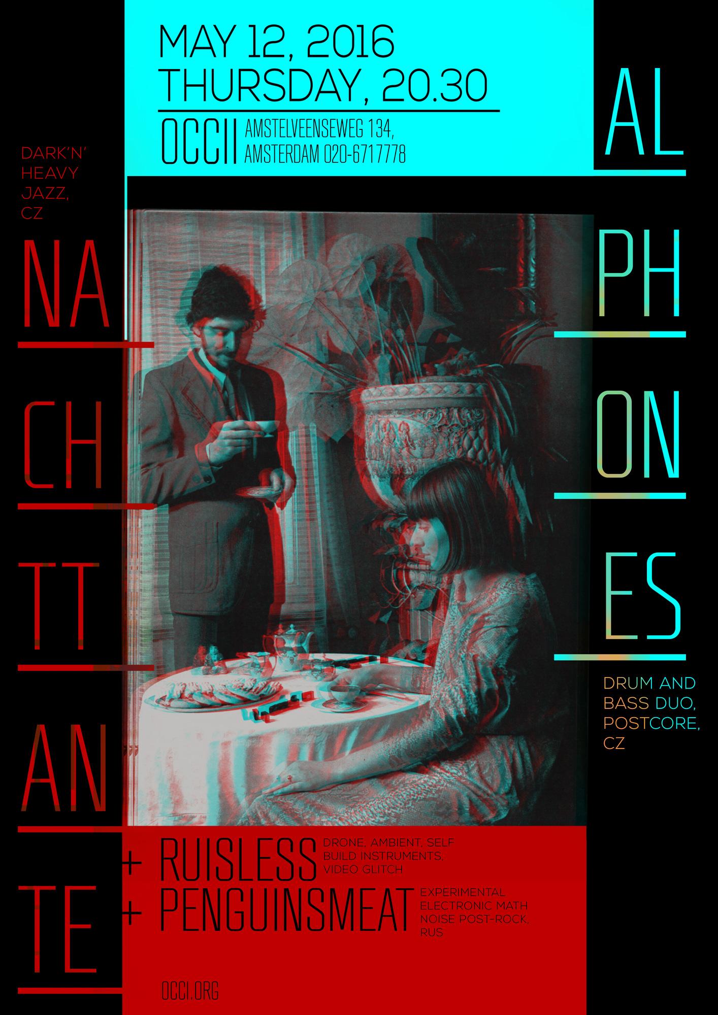 NACHTTANTE (cz) + ALPHONES (cz) + RUISLESS