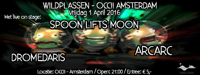 WILDPLASSEN #2 w/ SPOON LIFTS MOON + ARCARC + DROMEDARIS