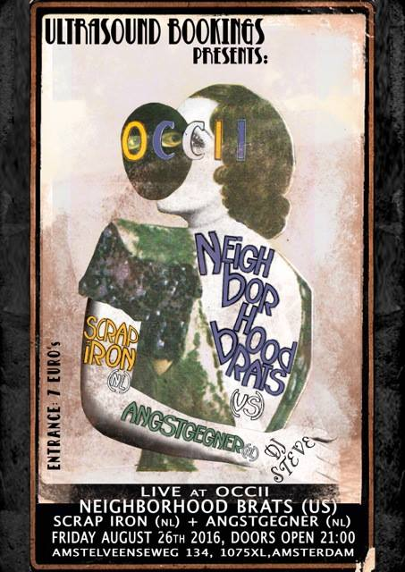 NEIGHBORHOOD BRATS (US) + SCRAP IRON + ANGSTGEGNER