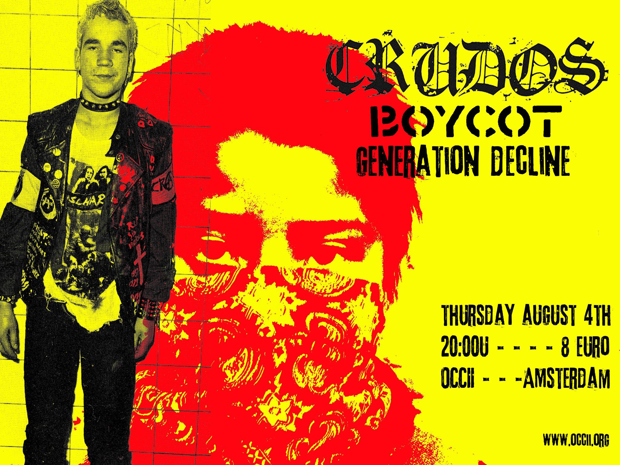 LOS CRUDOS (us) + BOYCOT + GENERATION DECLINE (us)