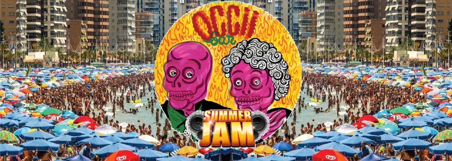 OCCII BAR - SUMMER JAM w/ DJ VROOM & DREESMAN + DJ SNOODAARD + DJ SL'OCCII + MB GIJS BORSTLAB + DJ HAKKI TAKKI + DJ/VJ BARBAPAPPA (Kinderpret)