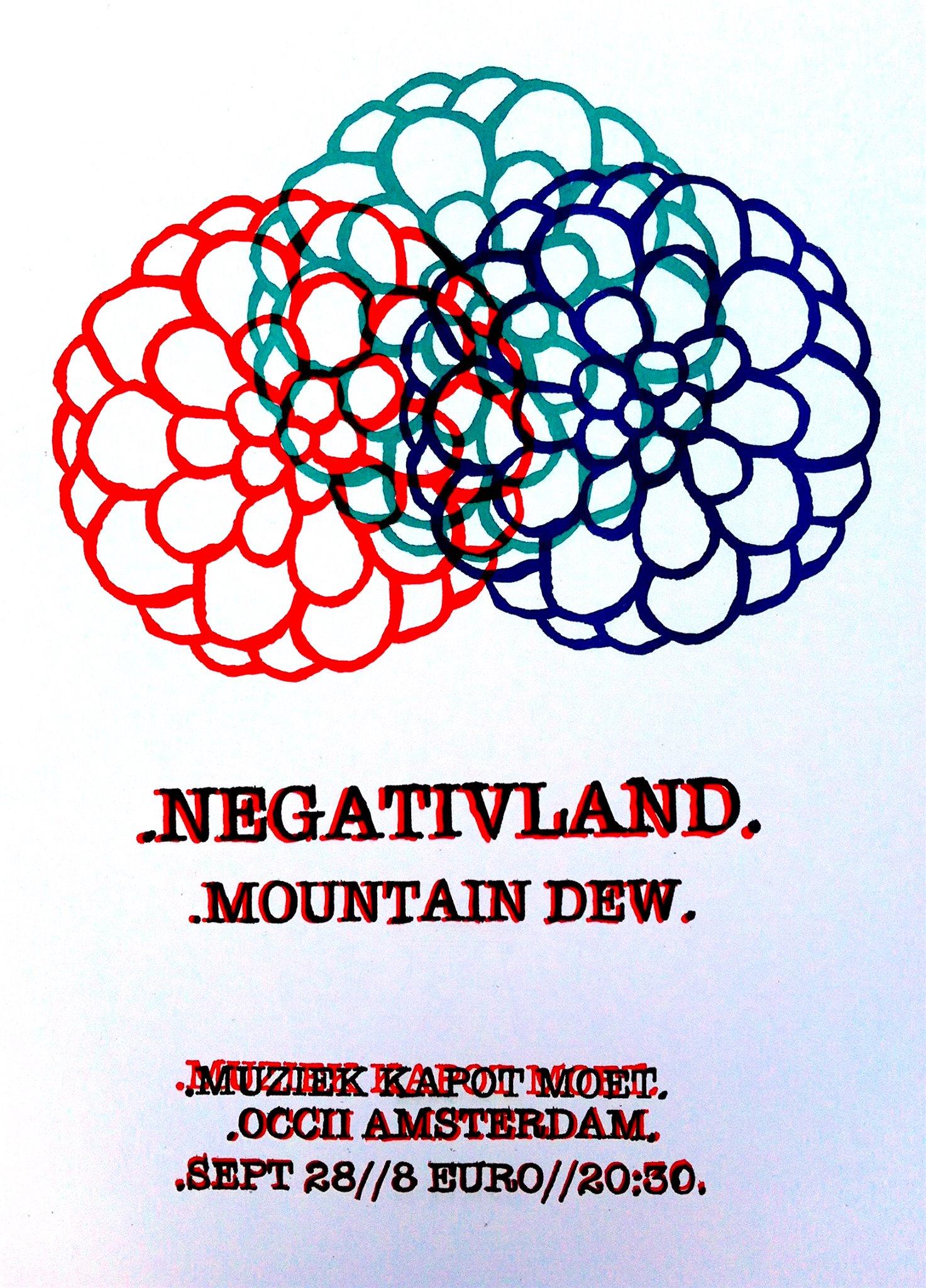 NEGATIVLAND  (us) + ∆D∆E∆W∆ (SOLO)