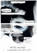 2016-09-11-telepathy-absolutist-kyrest-ghost-years-poster