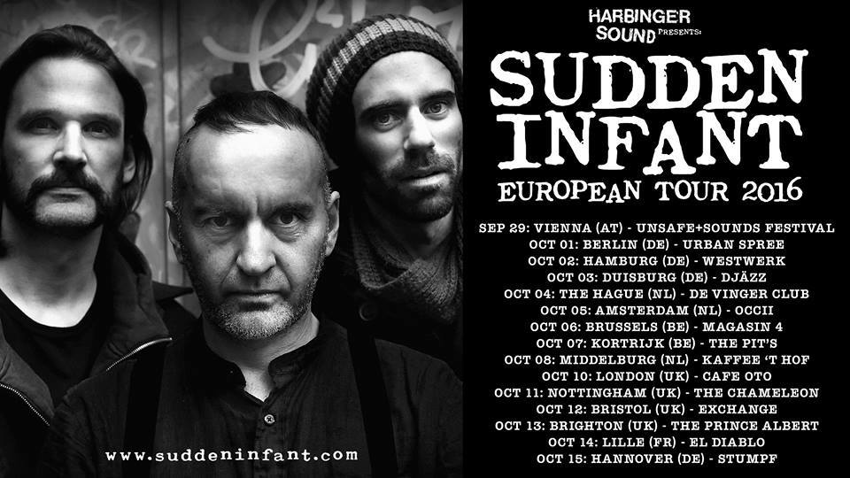 SUDDEN INFANT (Joke Lanz, Christian Weber and Alexandre Babel) + GIJS BORSTLAP