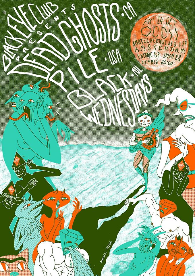 BLACK EYE CLUB w/ DEAD GHOSTS (ca) + PILE (us) + BLACK WEDNESDAYS