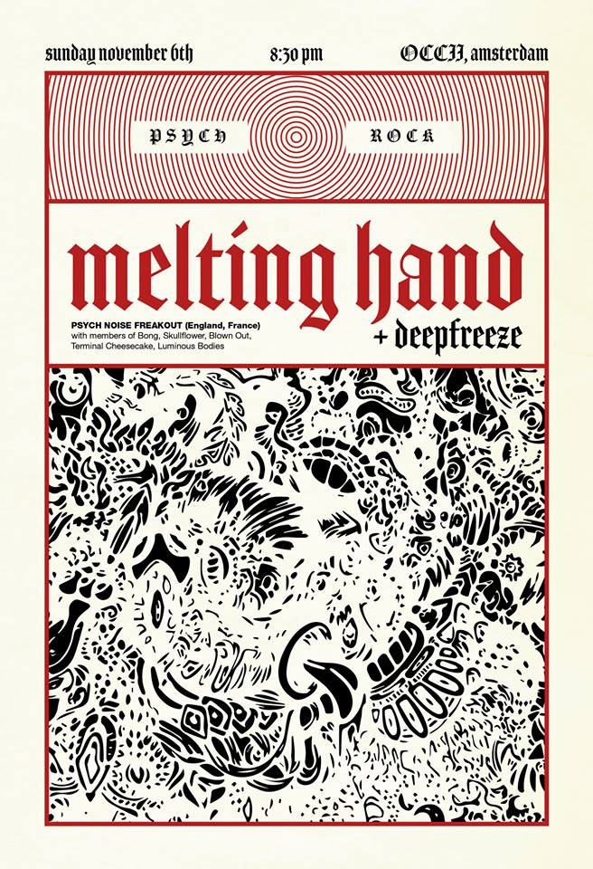 MELTING HAND (uk/fr) + DEEPFREEZE + HIJIKATA
