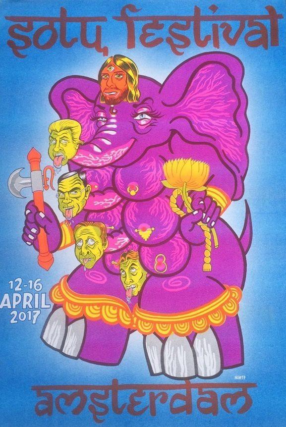 SOTU-Festival 666! w/ ZOO (IN, Senyawa) + GUESS WHAT (FR) + COMMON EIDER, KING EIDER (US) + CATHY HEYDEN (FR) + HYPERDRIVER (UK) + SNOGG (SI) + NIONDE PLAGAN (SE) + FETTER + LES FILLES DE ILLIGHADAD (NE) + 6EMME6ATALE6RIDAY+ PAUL TAS + BADABOUM (FR) + JAN WILLEM GINKO + AVENIR (FR) + CORAZÓN DE ROBOTA (CL) + CUNTROACHES (BATALJ, DE) + MORE !!!