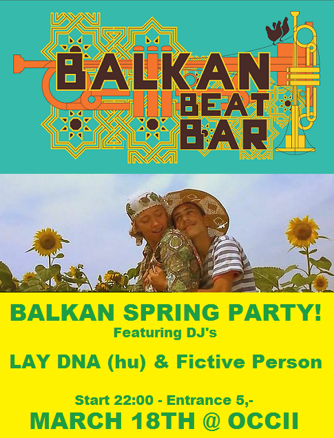 Balkan Beat Bar XII