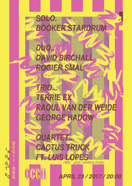 CACTUS TRUCK ft. LUIS LOPES (pt) + BOOKER STARDRUM (us) + TRIO TERRIE EX, RAOUL V/D WEIDE, GEORGE HADOW