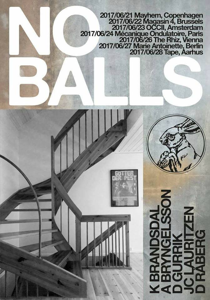 NO BALLS (SE, Brainbombs/Noxagt) + QUALM + MUDBAG